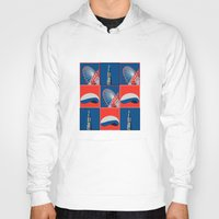 chicago Hoodies featuring Chicago by Arts and Herbs