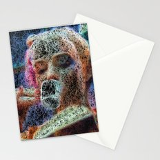 cup of coffe and good book Stationery Cards