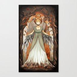 One is a Bird [ Over The Garden Wall ] Canvas Print