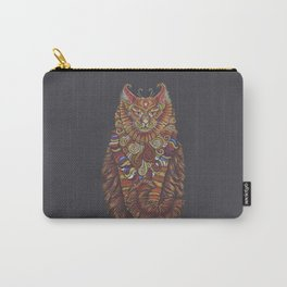 Maine Coon Cat Totem Carry-All Pouch