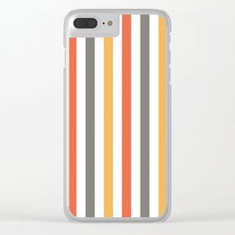 Simply Stripes Clear iPhone Case