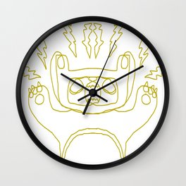 Bear Boy Wall Clock