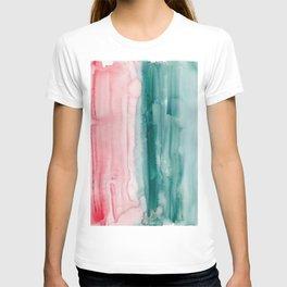 16     190907   Watercolor Abstract Painting T-shirt