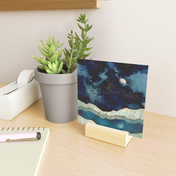 Indigo Sky Mini Art Print