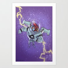 Astro Zodiac Force 10:  Rooster Art Print