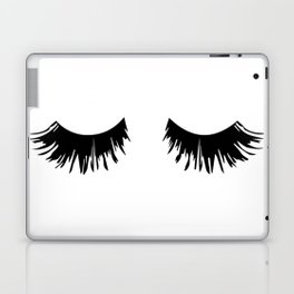 Eyelash Print Laptop & iPad Skin