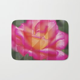 Rose Flower From A New Angle Bath Mat