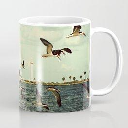 Lighthouse and Skimmers Coffee Mug