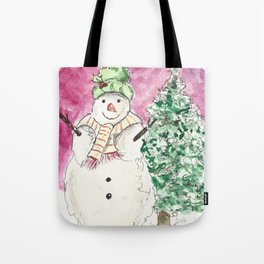 Bundled Up Tote Bag