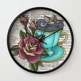 Not your cup of tea Wall Clock