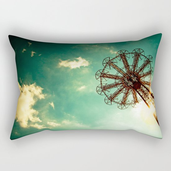 Catch The Wind Rectangular Pillow