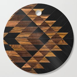 Urban Tribal Pattern 11 - Aztec - Wood Cutting Board