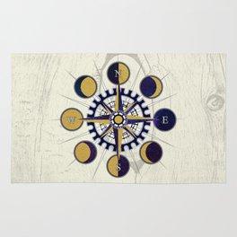 Solar Compass Rug