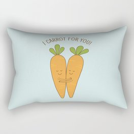Veggie love Rectangular Pillow