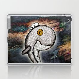 Woody the Whale Laptop & iPad Skin