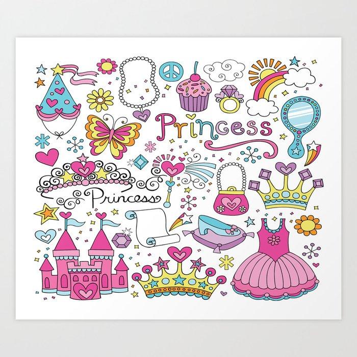 Princess Kunstdrucke