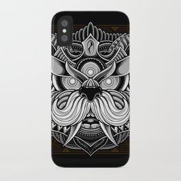 Javanese Ornate Dog iPhone Case