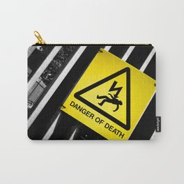 Danger of Death #2   New Slant, Old Message Carry-All Pouch