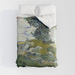 Vincent van Gogh - The Rocks (1888) Comforters