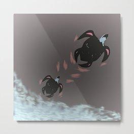 Juno Turtles Metal Print