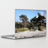 german Laptop & iPad Skins featuring German coast by anru