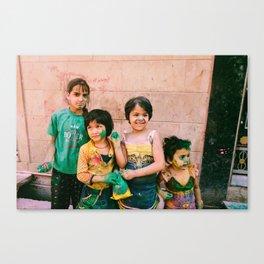 INDIA 20 Canvas Print