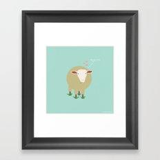 Ewe Are Loved Framed Art Print