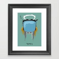The Robot Framed Art Print