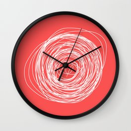 Nest of creativity Wall Clock