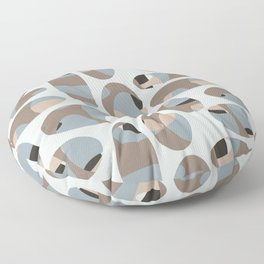 Stone Oval - Taupe Floor Pillow