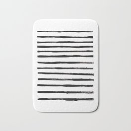 Zebra Stripes Bath Mat