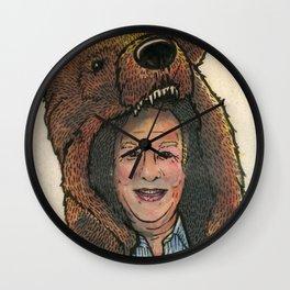 Bear Suit Marc Wall Clock
