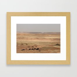 Ait-Ben-Haddou, in Ouarzazate province in Morocco Framed Art Print