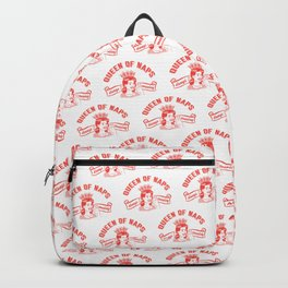 Queen Of Naps Vintage Style Backpack