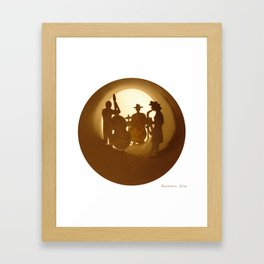 Jazz band Framed Art Print