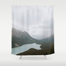 Peyto Lake, Banff National Park Shower Curtain
