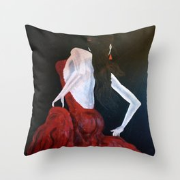 Enlightened Beauty Throw Pillow