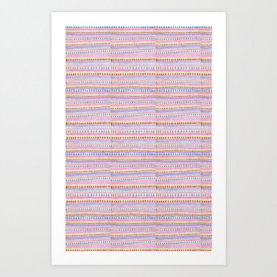 Delicate summer Art Print