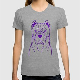 Cane Corso (Beige and Purple) T-shirt
