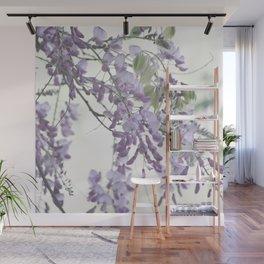 Wisteria Lavender Wall Mural