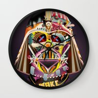 dad Wall Clocks featuring DAD by Mathis Rekowski