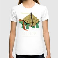 ninja turtles T-shirts featuring ninja by Louis Roskosch