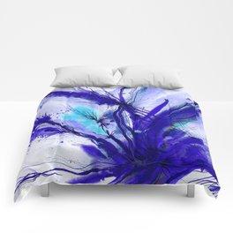 Organic Ecstasy No. 48e by Kathy Morton Stanion Comforters