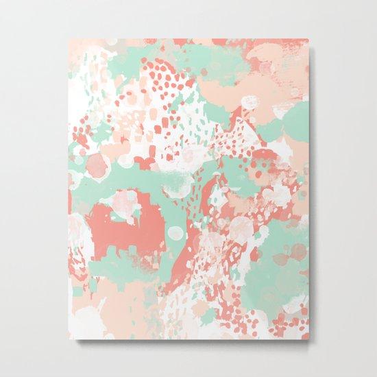 Anais - abstract minimal modern art print home office must have canvas wall art Metal Print