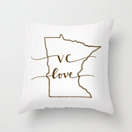 VC Love Throw Pillow