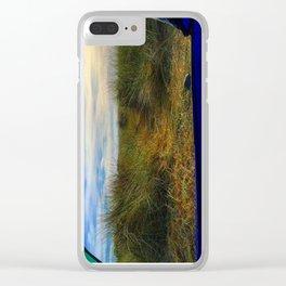 Gold Bluff Beach Camping Clear iPhone Case