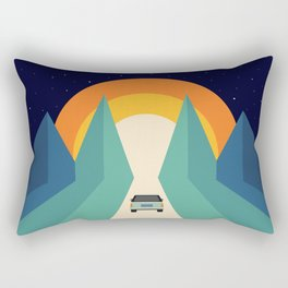 Wonderful Trip Rectangular Pillow