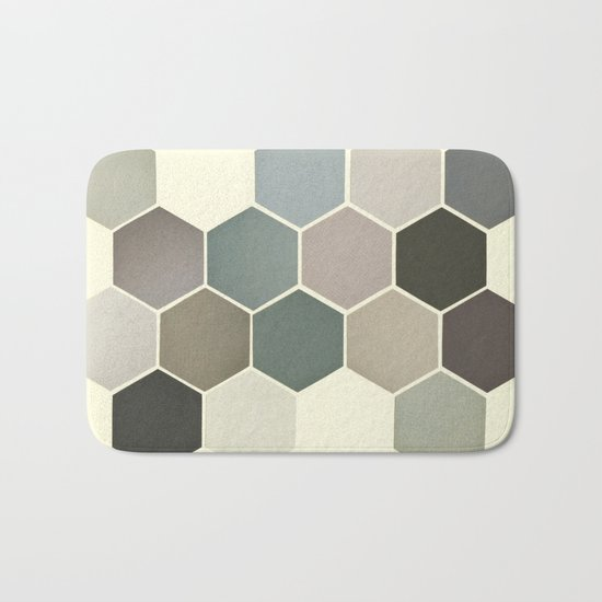 Shades of Grey Bath Mat
