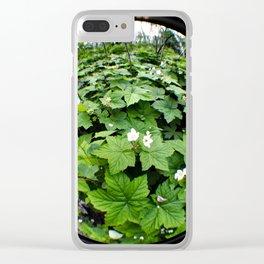 Fisheye Flora Clear iPhone Case