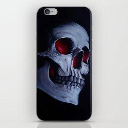 Acrylic Skull iPhone Skin